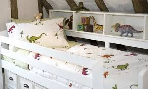 Dinosaur Single Duvet Set Children U0027s Organic Bedding Single Duvet U0026 Cot Bed Duvet The Wise