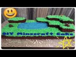 how to make a minecraft cake village cake tutorial for beginners