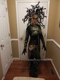 Contest Winning Halloween Costumes Contest Winning Diy Medusa Costume Costumes Halloween Costumes