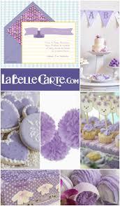 invitaciones para baby shower e ideas para decorar un baby shower lila