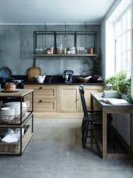 Wall Mounted Kitchen Shelves by Design Sleuth Stacked And Wall Mounted Tables As Kitchen Storage