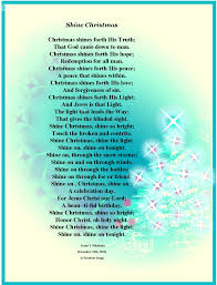 christian christmas poems however i u0027m behind and rushed for a