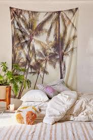 Tapestry On Bedroom Wall Aliexpress Com Buy Coconut Tree Mandala Printed Tapestry