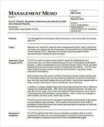 business memo format sample 7 management memo examples samples