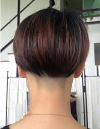layered buzzed bob hair 170 best buzzed nape bobs images on pinterest hairstyle hair