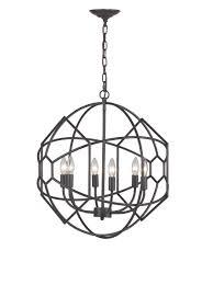 artistic lighting strathroy 6 light orb chandelier aged bronze at
