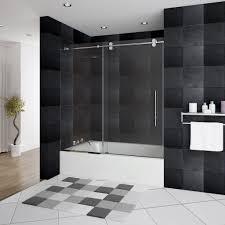 B Q Bathrooms Showers Bathroom Bathtub Glass Shower Door Ideas For Black Bathroom