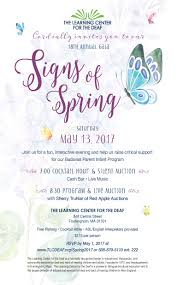 Colors Of Spring 2017 Signs Of Spring Gala Registration Now Open