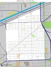 12th ward chicago map map of building projects properties and businesses in brighton