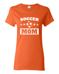 soccer mom women u0027s short sleeve t shirt white print on dark