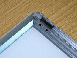 led picture frame light aluminium snap frame led light box