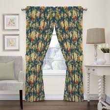 Blue Kitchen Curtains Buy Blue Kitchen Curtains From Bed Bath U0026 Beyond