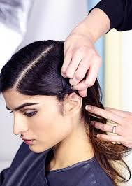 parting hair when braiding a ball top stylist reveals the secrets to plaiting hair in 6 easy steps