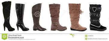 womens boots types collection of various types of boots stock images image