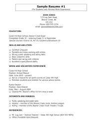 Actor Resume Skills Sample Skills On Resume Resume Skills Section Example Is One Of