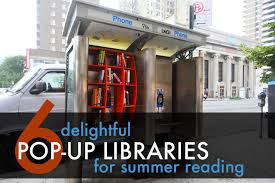 Mini Library Ideas 6 Delightful Pop Up Libraries To Encourage Reading This Summer