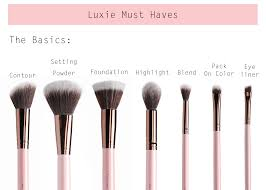 http www luxiebeauty com luxie rose gold large angled face brush