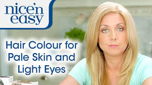 how to choose hair colour for pale skin and light eyes nice u0027n