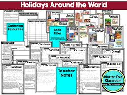 60 best holidays around the world activities crafts and lesson