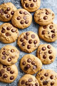 soft pumpkin chocolate chip cookies cafe delites