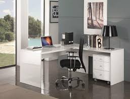 White Home Office Desks The Most Selina High Gloss White Desk Home Office Contemporary