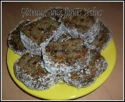 cuisiner les figues gâteaux au figues sèches sans cuisson la popotte de silvi