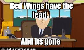Red Wings Meme - red wings tonight call center memes