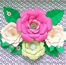 diy large paper flower templates paper flower kit paper flower