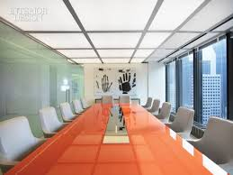 Back Painted Glass Conference Table Fancy Back Painted Glass Conference Table With William T Georgis