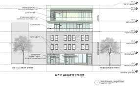 Building Site Plan Site Plans Show Renovation Work Planned For 107 West Hargett