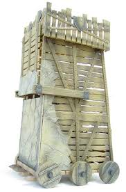 siege machines siege tower one of the most dangerous crusader s weapons the