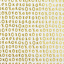 gold wrapping paper white gold xoxo foil wrapping paper the container store
