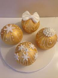 144 best bauble cakes images on cake mini cakes
