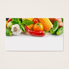Zazzle Business Card Template Fruit And Vegetables Business Cards U0026 Templates Zazzle