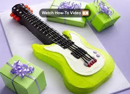 electric guitar cake template u2022 the celebration shoppe