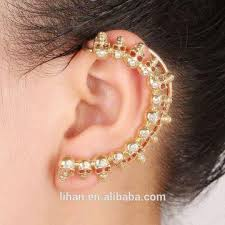 ear hoop unique clip hoop earrings ear cuff wrap clip earring