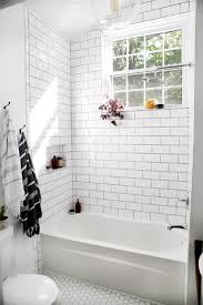 Bathroom Tub Tile Ideas Best 25 White Subway Tile Bathroom Ideas On Pinterest White