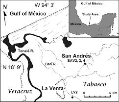 Mesoamerica Map Origin And Environmental Setting Of Ancient Agriculture In The