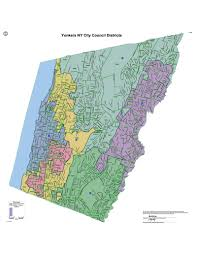 New York City Area Code Map city council districts city of yonkers ny