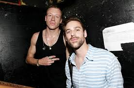 Macklemore and Ryan Lewis pose
