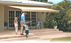 Retractable Awnings Price List Sunsetter Motorized Retractable Awnings In La By Galaxy Draperies