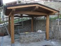 montaggio tettoia in legno tettoie prezzi falegnameria serena