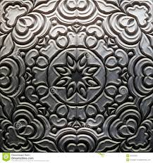 metal plate with carved pattern royalty free stock image image