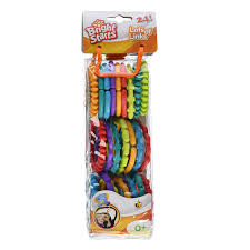 baby toy rings images 24pcs set colorful rainbow rings baby toy holder baby rattle crib jpg