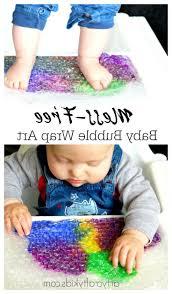 unique bubble wrap art crafts for kids library