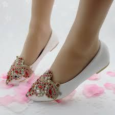 wedding shoes flats fashion flats women shoes wedding flat heel casual