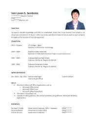 resume objective template it resume objectives sles megakravmaga