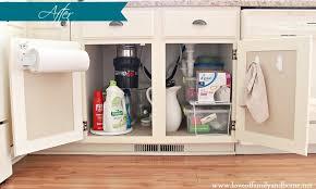 Under The Kitchen Sink Organization by Cleaning U0026 Organizing Under The Kitchen Sink Love Of Family U0026 Home