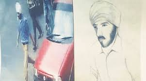 punjab police release sketch of suspected bike thief the indian