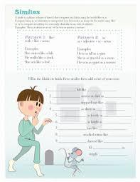 similes for kids worksheet education com